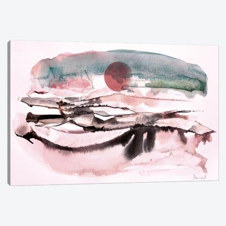 Water Landscape II Canvas Print #HOB99} by Dan Hobday Canvas Print