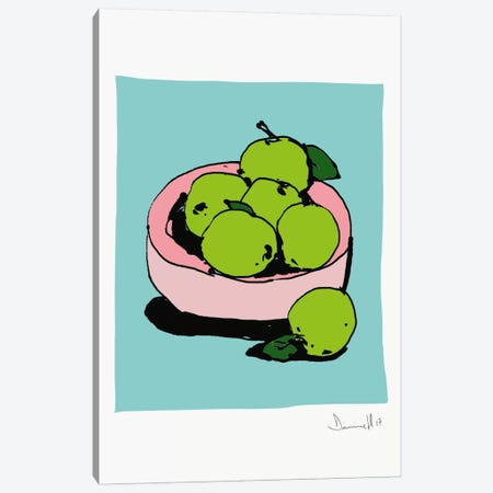 Apples Canvas Print #HOB9} by Dan Hobday Art Print