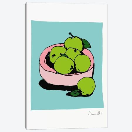 Apples Canvas Print #HOB9} by Dan Hobday Art Print