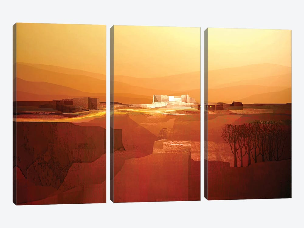 Marvelous Landscape III by Fernando Hocevar 3-piece Canvas Artwork