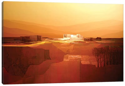 Marvelous Landscape III Canvas Art Print