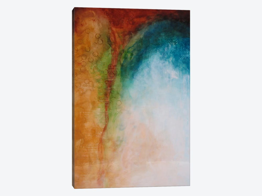 Fixed Values by Heather Offord 1-piece Canvas Print