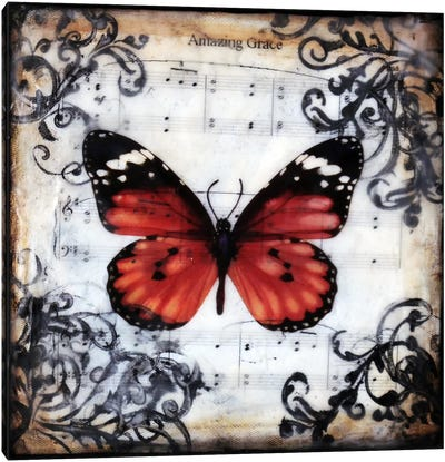 Flutter By 1 Canvas Print #HOD105