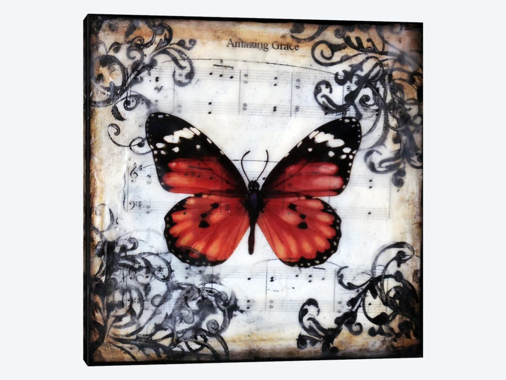 Flutter By 1 by Heather Offord 1-piece Art Print