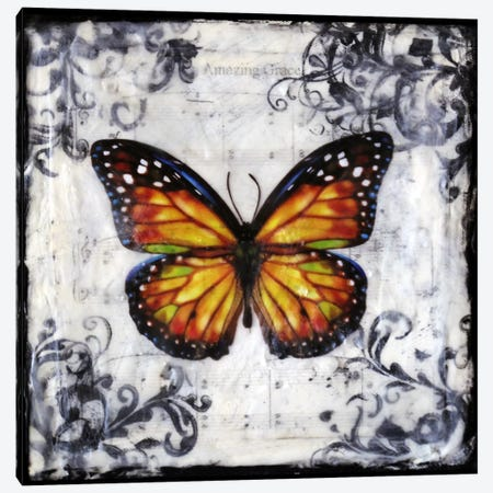 Flutter By 2 Canvas Print #HOD106} by Heather Offord Canvas Art