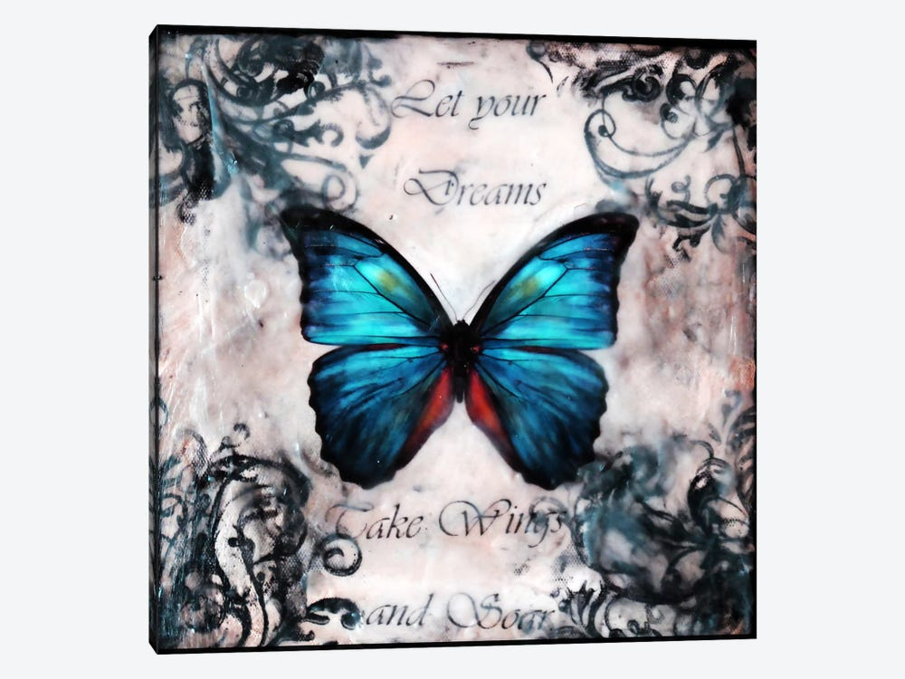 Flutter By 14 by Heather Offord 1-piece Canvas Print