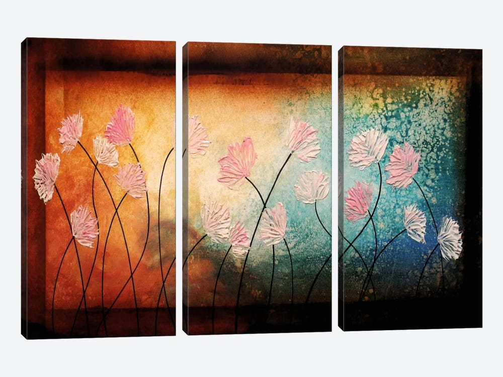 After The Rain by Heather Offord 3-piece Canvas Artwork