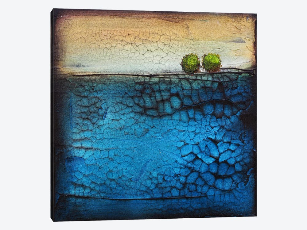Goingforadip1 by Heather Offord 1-piece Canvas Artwork