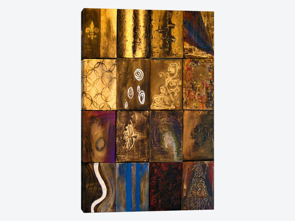 Ages by Heather Offord 1-piece Canvas Print