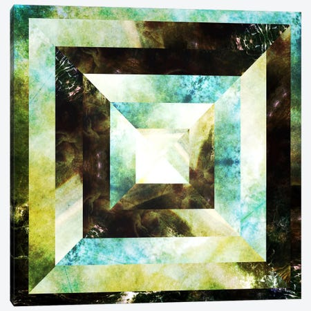 Hip To Be Square Canvas Print #HOD131} by Heather Offord Canvas Art
