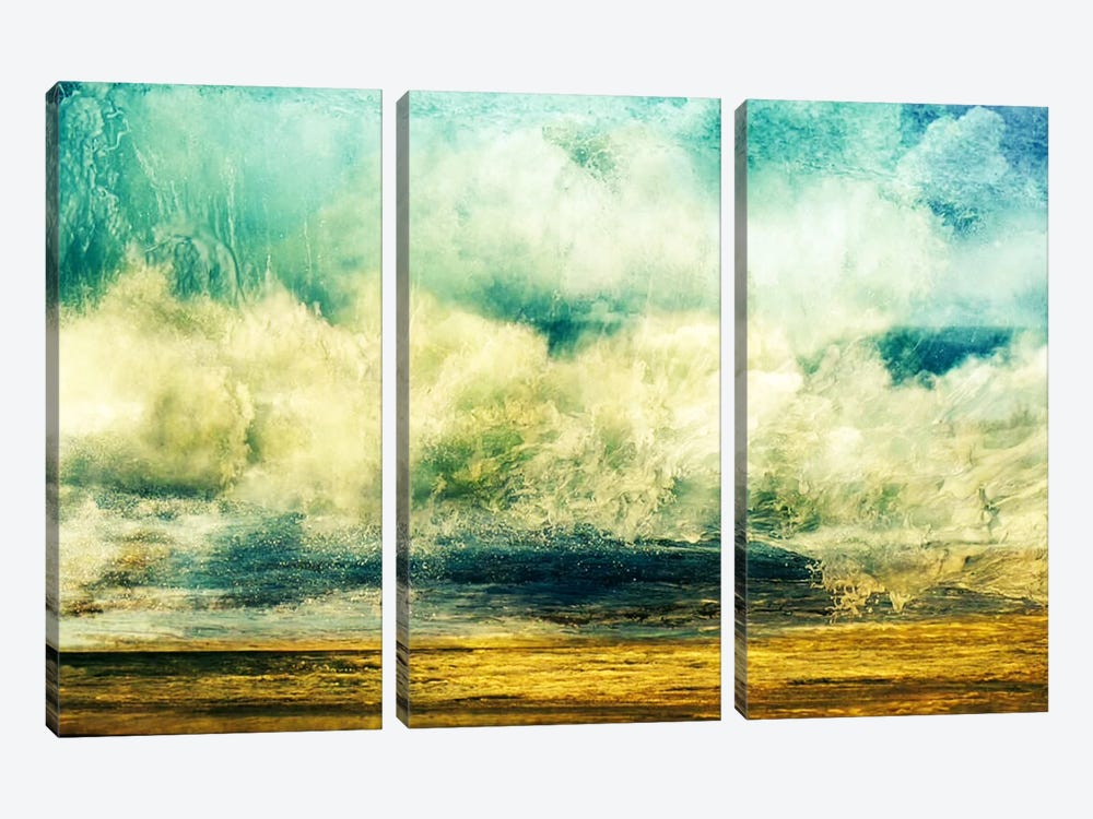 A Good Day by Heather Offord 3-piece Canvas Wall Art