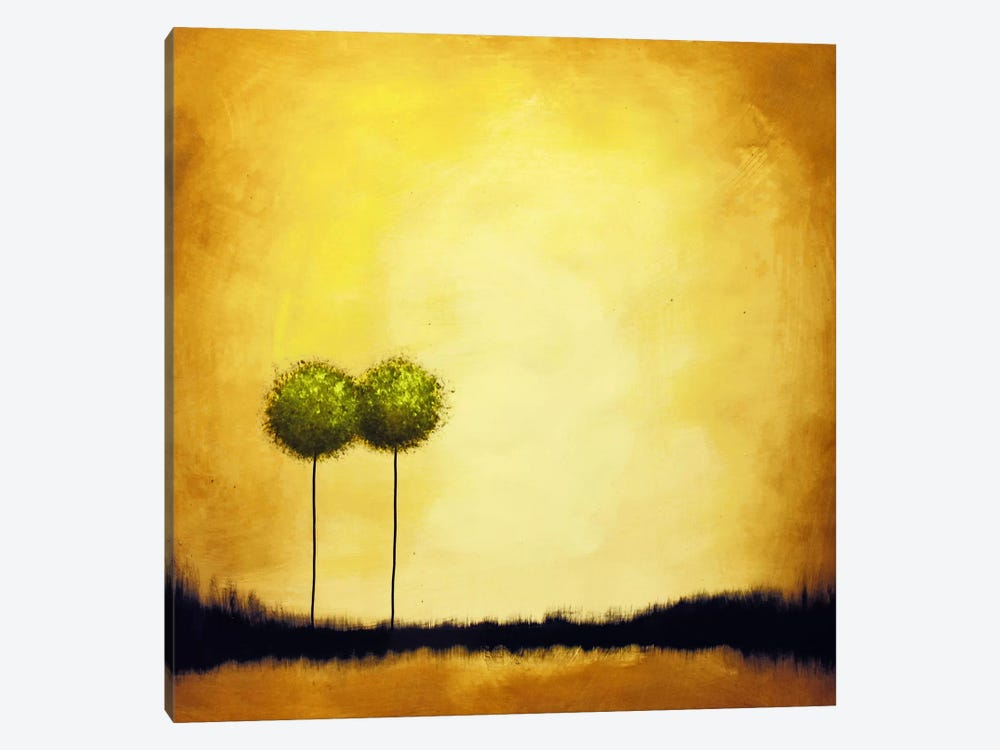 Let's Grow Old Together #2 by Heather Offord 1-piece Canvas Art