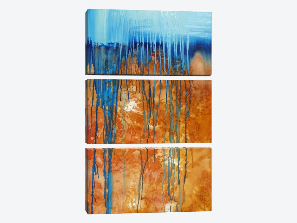 Like The Deserts Miss The Rain by Heather Offord 3-piece Canvas Art Print