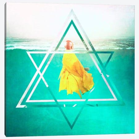 Meditation Canvas Print #HOD166} by Heather Offord Canvas Artwork