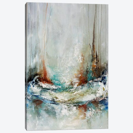 Nautical Gathering Canvas Print #HOD178} by Heather Offord Canvas Artwork