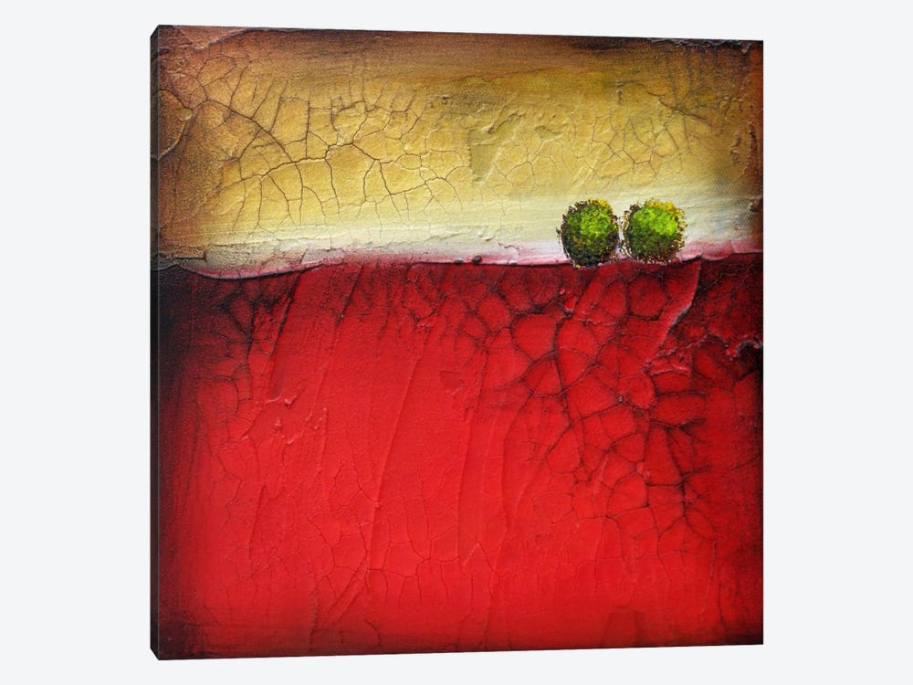 A Great Kiss #1 by Heather Offord 1-piece Canvas Wall Art
