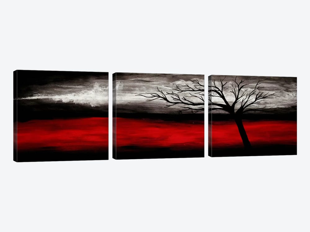 Passion by Heather Offord 3-piece Canvas Art