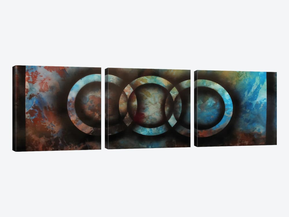 Properties Of The Same Kind by Heather Offord 3-piece Canvas Print
