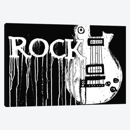 Rock Canvas Print #HOD209} by Heather Offord Canvas Wall Art
