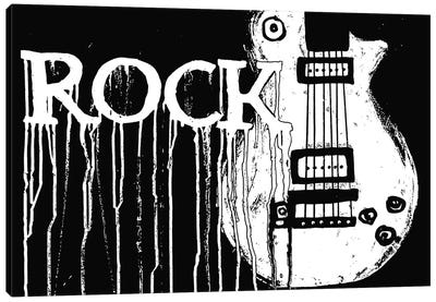 Rock Canvas Art Print