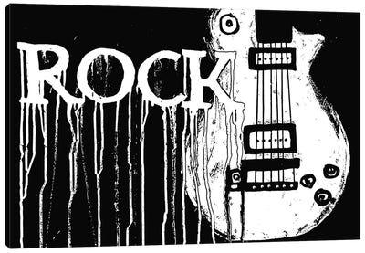 Rock Canvas Art Print