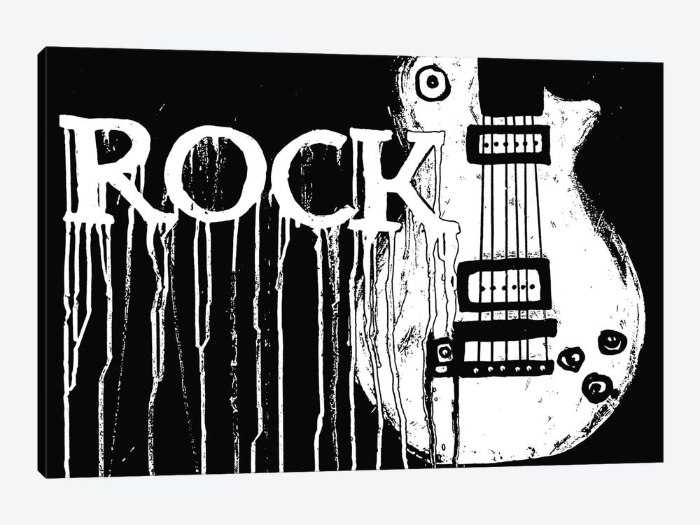 Rock by Heather Offord 1-piece Canvas Print