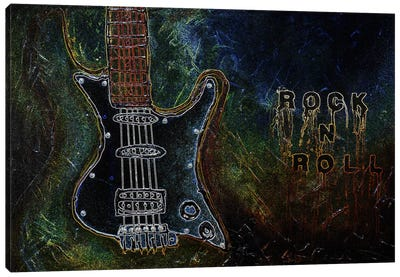 Rockn Roll #1 Canvas Print #HOD210