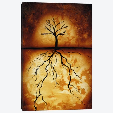 Roots Canvas Print #HOD213} by Heather Offord Canvas Print