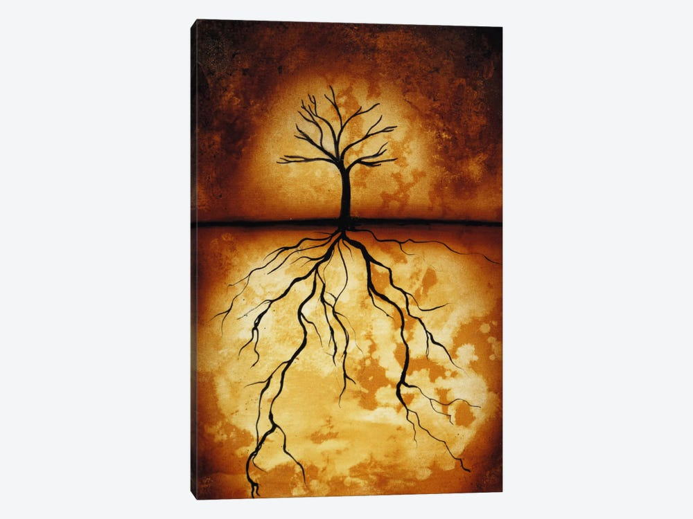 Roots by Heather Offord 1-piece Canvas Artwork