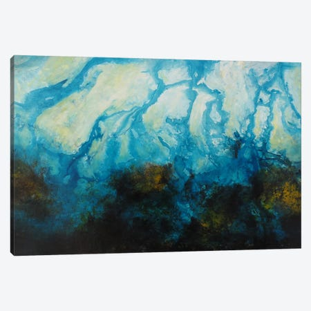 Seascape Canvas Print #HOD217} by Heather Offord Canvas Artwork