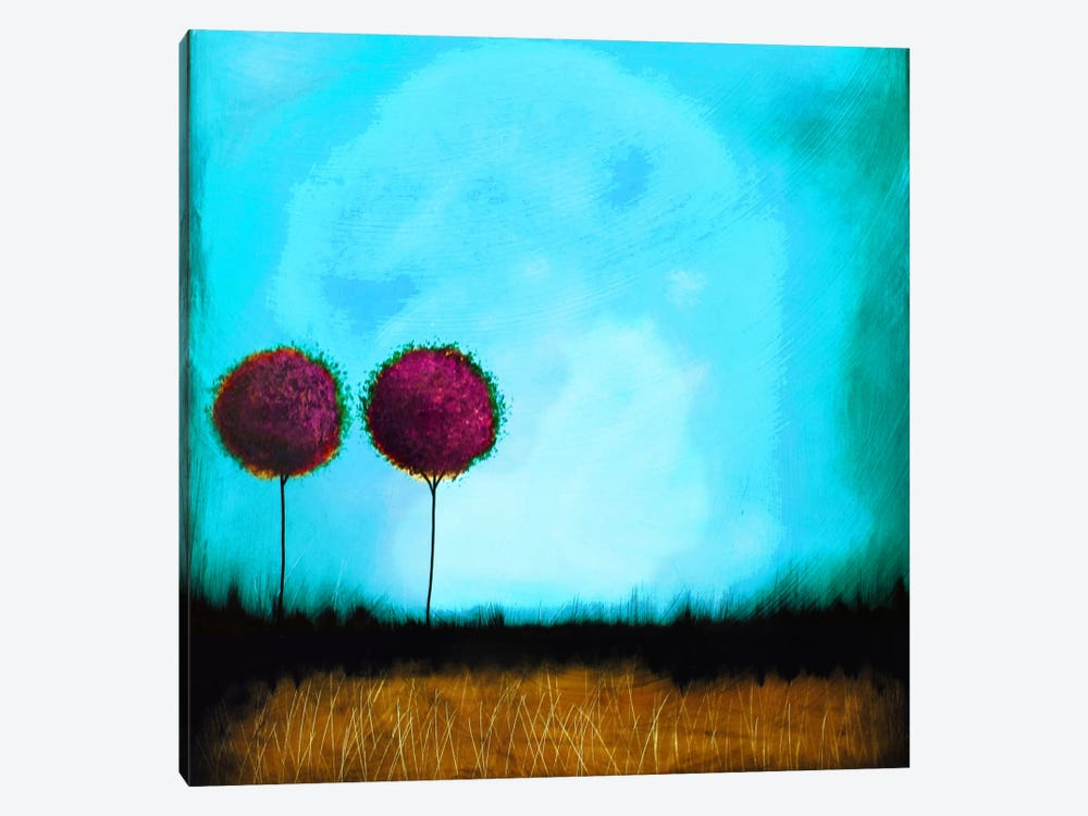 Self Reflection #2 by Heather Offord 1-piece Canvas Artwork