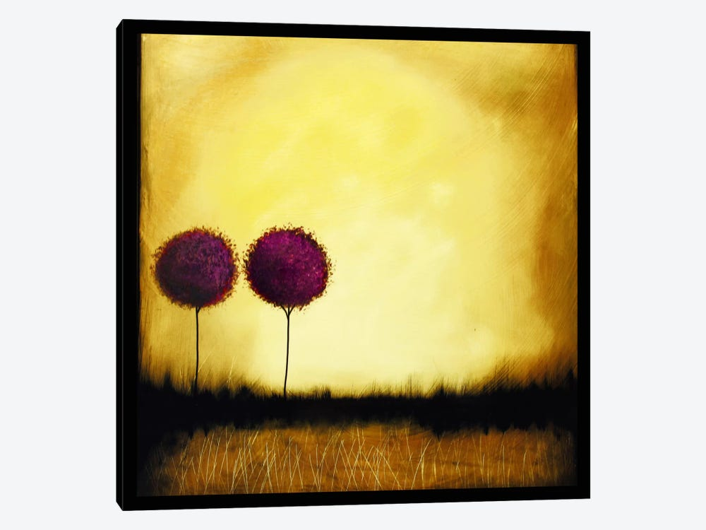 Self Reflection by Heather Offord 1-piece Canvas Art Print