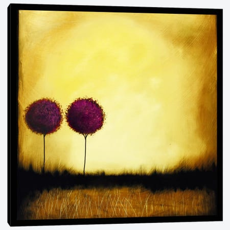 Self Reflection Canvas Print #HOD221} by Heather Offord Canvas Wall Art