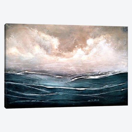 Set Sail Canvas Print #HOD224} by Heather Offord Canvas Art Print