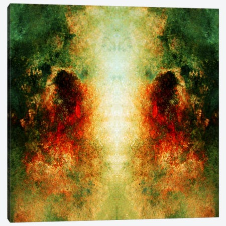 Soul Mates Canvas Print #HOD236} by Heather Offord Canvas Art