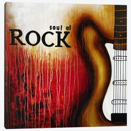 Soul of Rock Canvas Print #HOD238} by Heather Offord Art Print