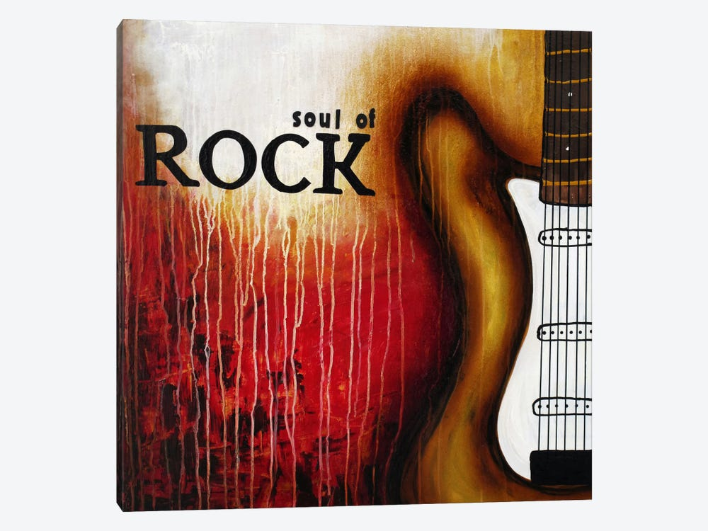 Soul of Rock by Heather Offord 1-piece Canvas Print