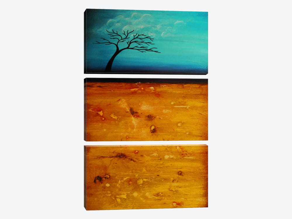 Soul Searching by Heather Offord 3-piece Canvas Artwork