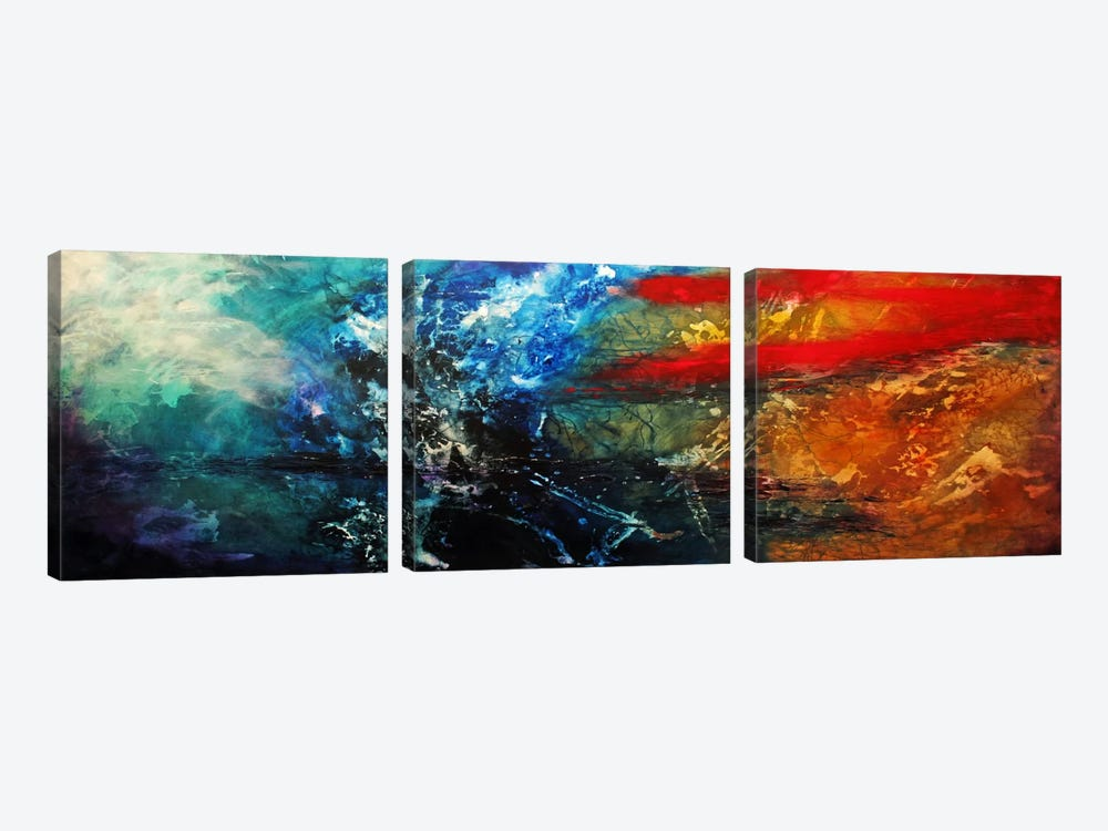 Synphonic by Heather Offord 3-piece Canvas Wall Art