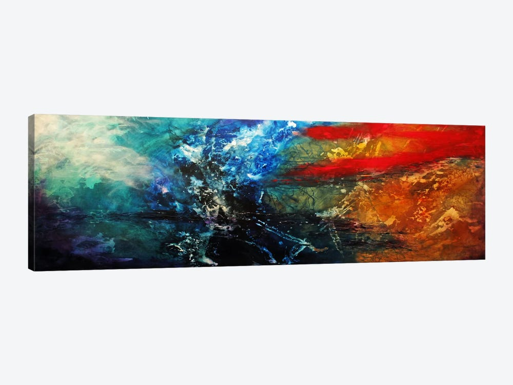 Synphonic by Heather Offord 1-piece Canvas Wall Art
