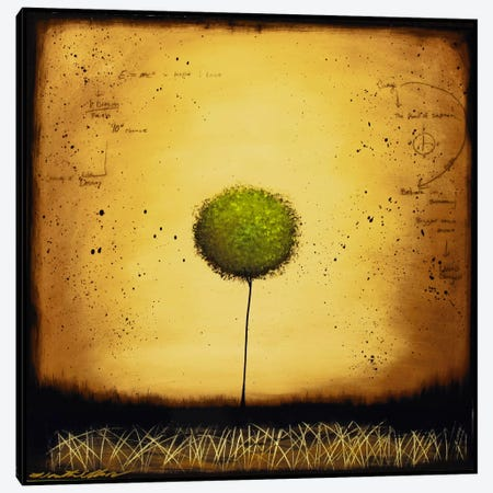 The Dreamer Canvas Print #HOD264} by Heather Offord Canvas Print