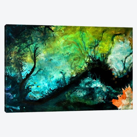 The Dive Canvas Print #HOD268} by Heather Offord Canvas Wall Art