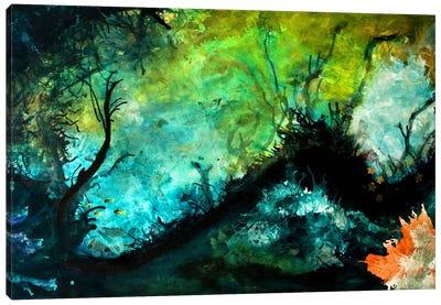The Dive Canvas Art Print
