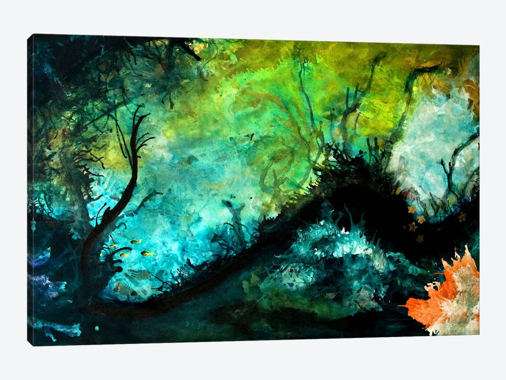 The Dive by Heather Offord 1-piece Canvas Art