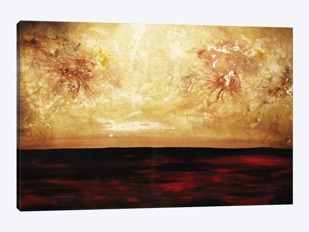War In The Heavenlies by Heather Offord 1-piece Canvas Artwork