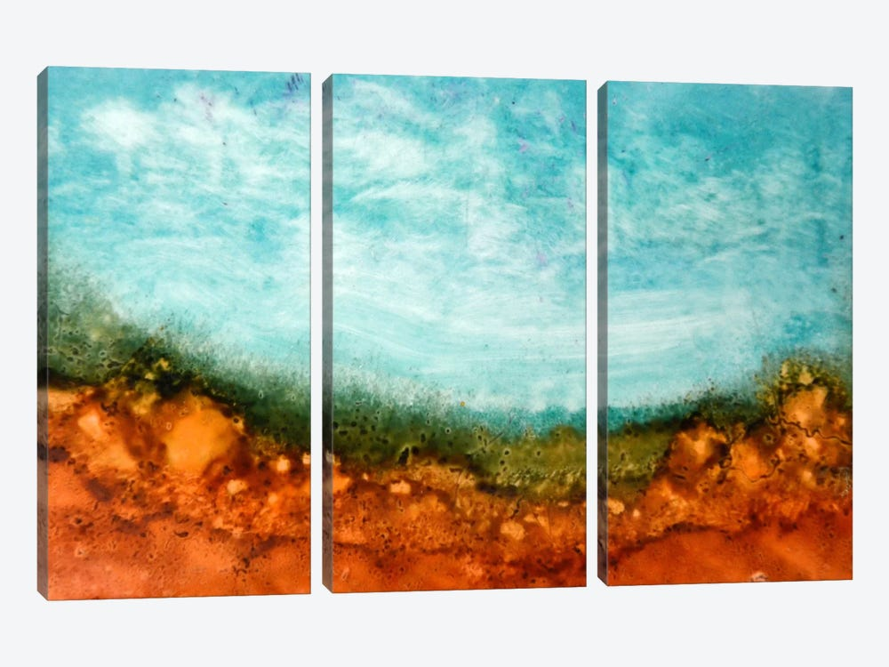A New Day #2 by Heather Offord 3-piece Canvas Art