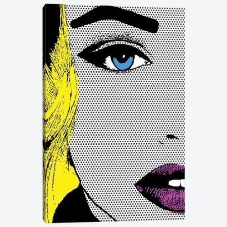 Shut Up! 3-Piece Canvas #HOD333} by Heather Offord Canvas Artwork