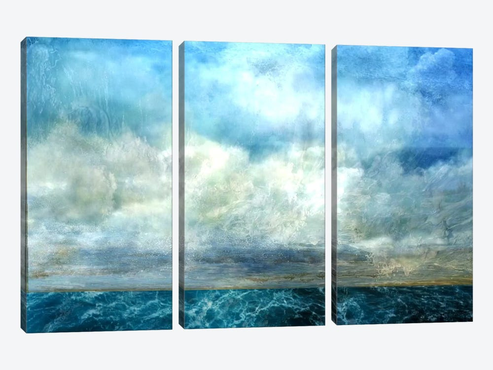 At Worlds End by Heather Offord 3-piece Canvas Art Print
