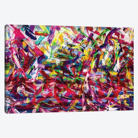 Dance Canvas Print #HOD373} by Heather Offord Canvas Artwork