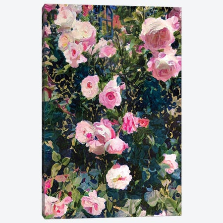 Floral 51 Canvas Print #HOD448} by Heather Offord Canvas Wall Art